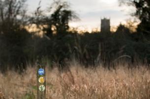Keevil footpath on the way to Steeple Ashton