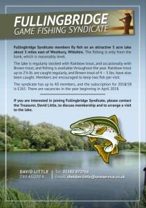 Fullingbridge fishing