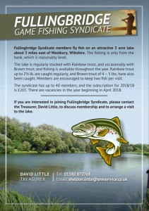 Fullingbridge fishing