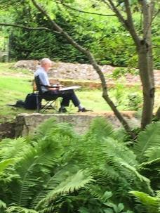 Art Group at Heale Gardens-0493