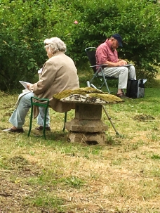 Art Group at Heale Gardens-0499