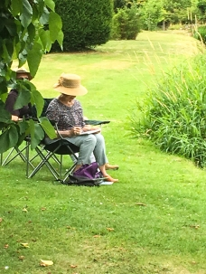 Art Group at Heale Gardens-0500