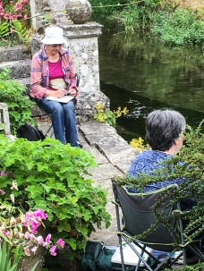 Art Group at Heale Gardens-0504
