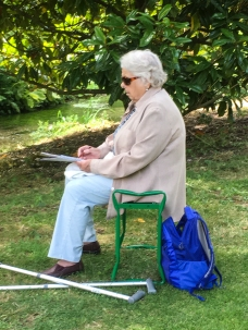 Art Group at Heale Gardens-0510