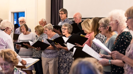 Keevil Singers July 2018-2105