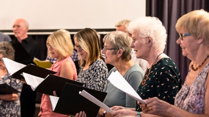 Keevil Singers July 2018-2109