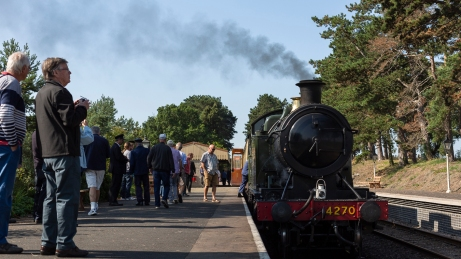 Keevil Heritage Railway Group 2018-5764