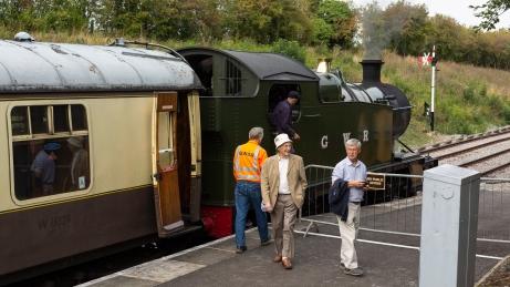 Keevil Heritage Railway Group 2018-5813
