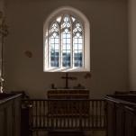 Inside St Mary's, Hardington Bampfylde, September 2018