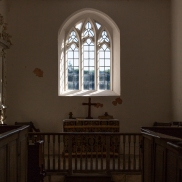 Inside St Mary's, Hardington Bampfylde, September 2018