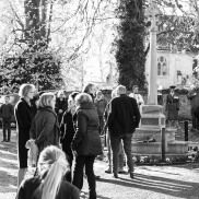 Villagers gather for Remembrance 2018