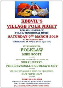 folk night poster 2019