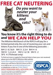 RSPCA CNC2019 poster W