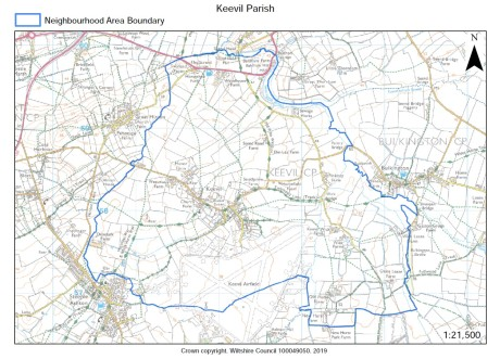 Parish boundary map