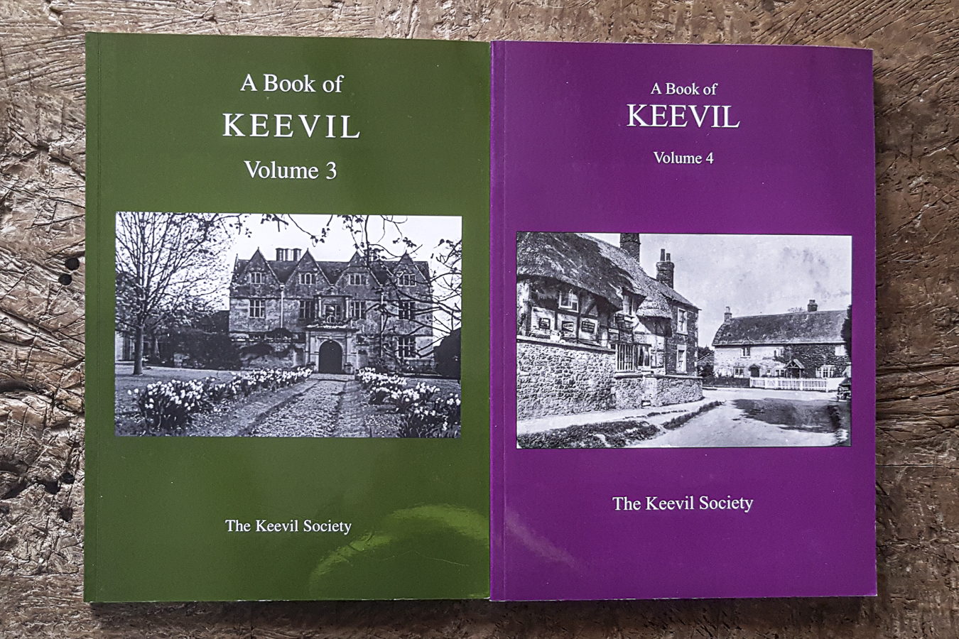 Cover of volume 3 and 4 of A Book of Keevil