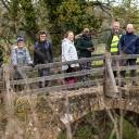 Bridge over peaceful waters, Tellisford May 2021